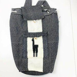 Peruvian Artisanal Cloth Backpack
